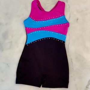 Girls gymnastics leotard. Sz 6/6x.